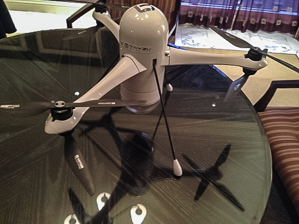 "NAB 2014 Exclusive ""Sneak Preview"": Tayzu Heavy Lift Drone to Revolutionize Aerial Filmmaking 9"