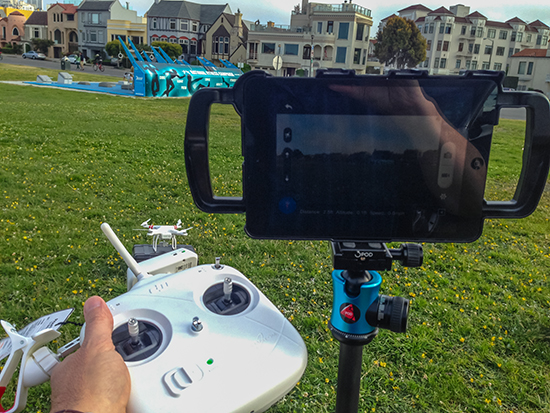 Hands-On Review with the DJI Phantom 2 Vision+ 22
