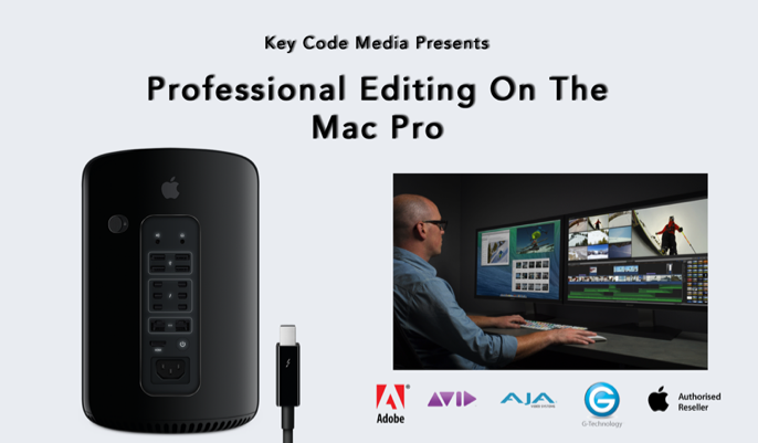 Key Code Media Presents: Professional Editing With The Apple Mac Pro 8