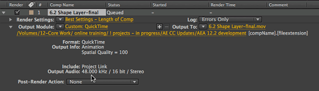 After Effects 12.2 Audio Bug... 6