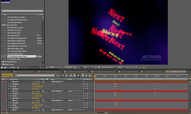 After Effects Brainstorm: Keyframe Variations 3