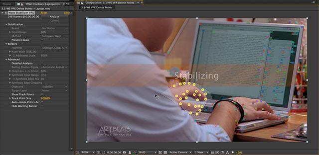 Warp Stabilizer VFX