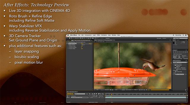 After Effects Technology Preview course