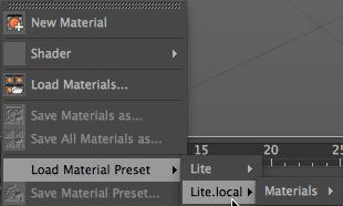 Preparing for Cinema 4D Lite v2.0 21