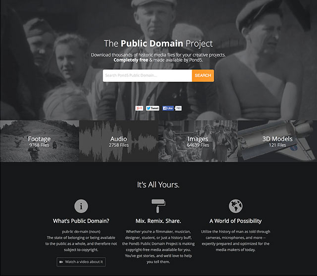 The Public Domain Project 3
