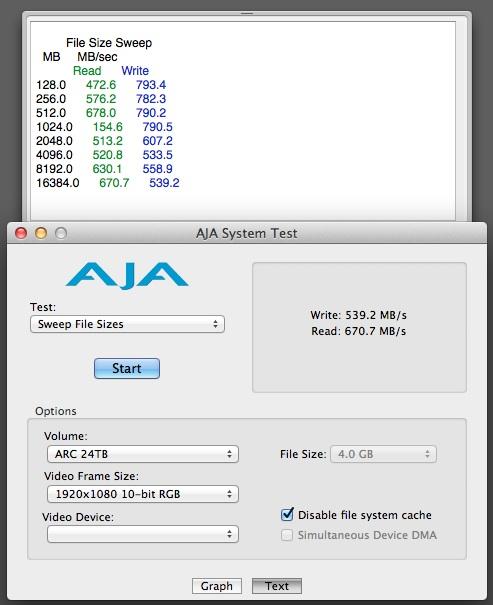 Areca 8050 Thunderbolt RAID Review 35