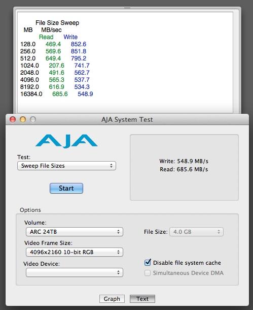 Areca 8050 Thunderbolt RAID Review 36