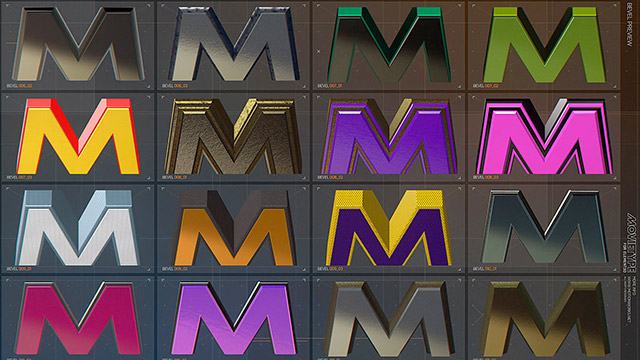 MovieType For Element 3D: new for After Effects 5