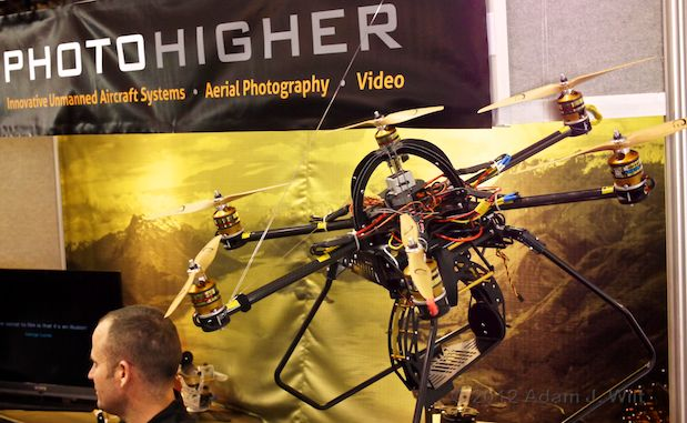 NAB 2012: Unmanned Aerial Vehicles 22
