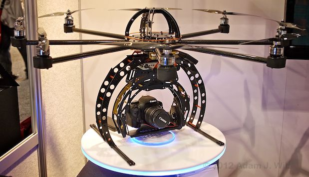NAB 2012: Unmanned Aerial Vehicles 24