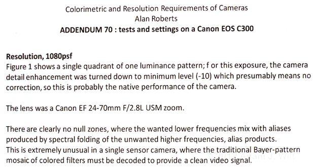 NAB 2012: Canon C300 Image Processing 24