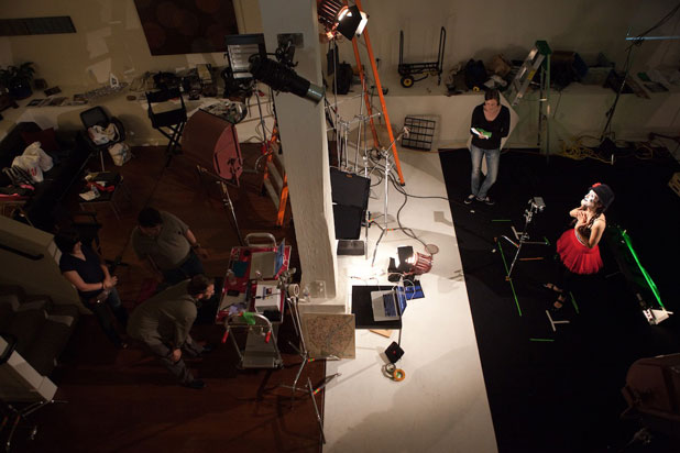 Lighting Against The Wind: The Making of a Mime Music Video 48