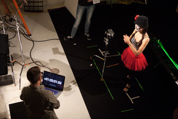 Lighting Against The Wind: The Making of a Mime Music Video 38