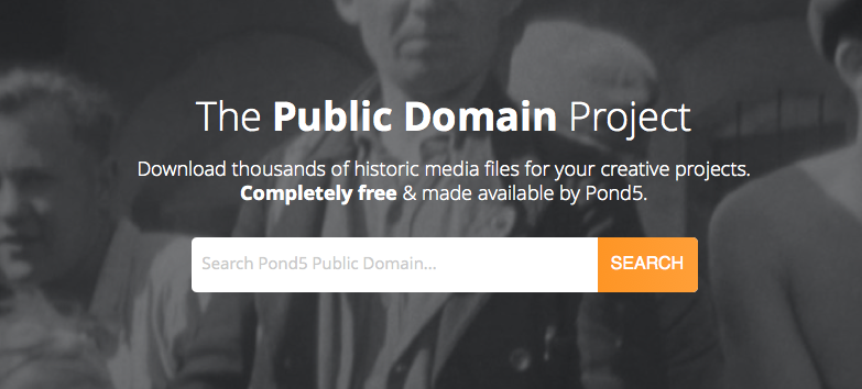 Find Out How the Pond5 Public Domain Project Helps Content Creators Make History and Make Media 13