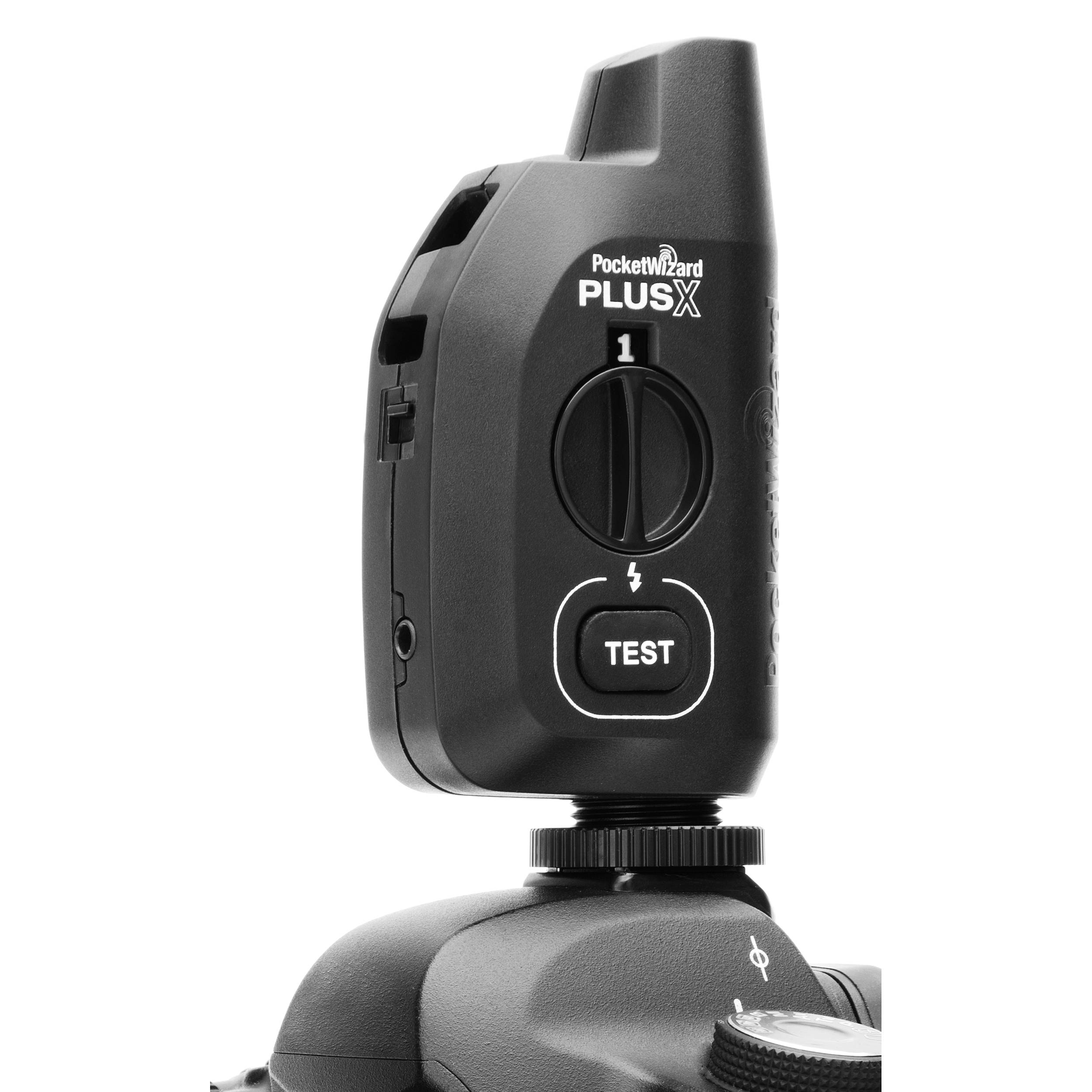 PocketWizard® Announces Easy-to-Use Plus®X Transceiver for Wireless Flash and Camera Triggering 3