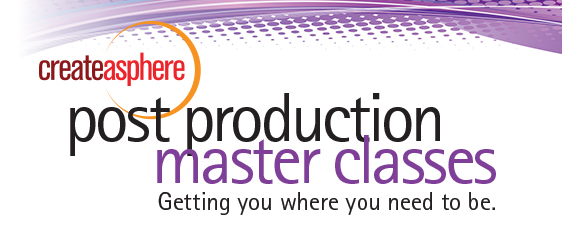 Speaker Line-Up Announced for Post Production Master Class 4