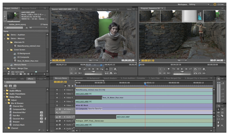 Adobe premiere pro hits 5. 5 by scott simmons provideo coalition.