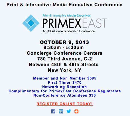 The Print & Interactive Media Executive Conference 3