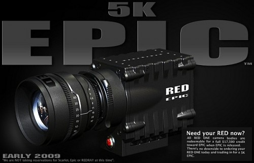 RED Epic Announced 5