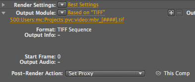 Tip: Render the Impossible via Proxies in After Effects 8