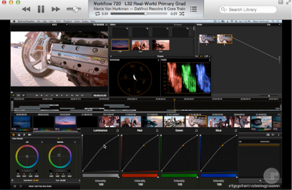 Two great new training resources for DaVinci Resolve now