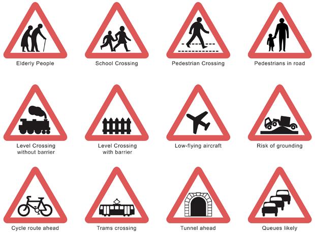 Designing British Road Signs 3