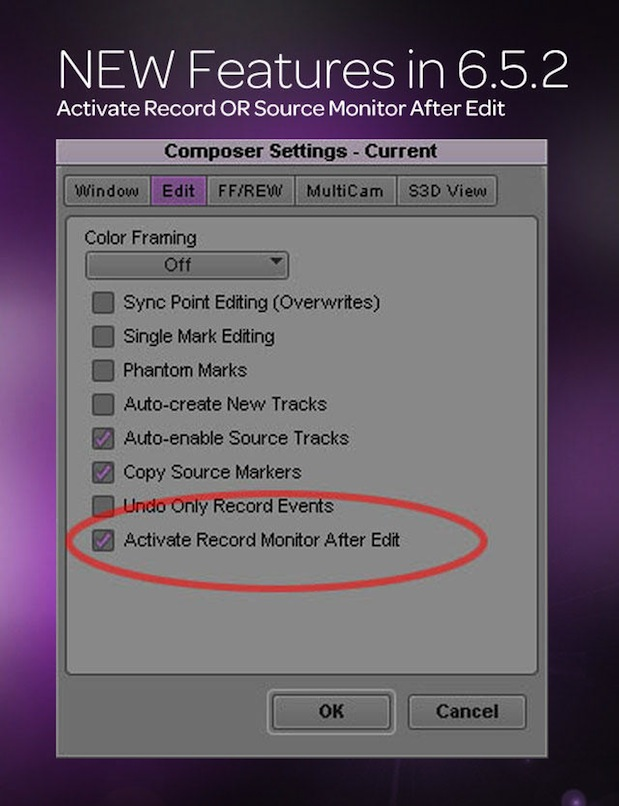 Avid Media Composer 6.5.2 adds some very nice (and needed) features 10