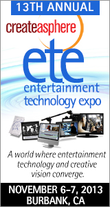 Are you coming to the Entertainment Technology Expo? 3
