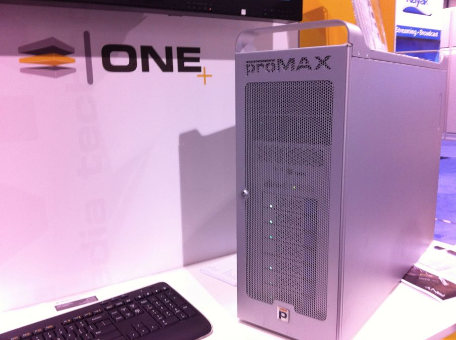 NAB 2013: The ProMAX ONE and ProMAX ONE+ powerhouse PCs 1