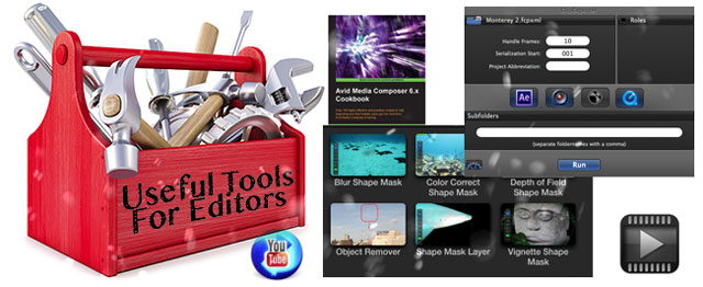 Useful Tools for Editors: After Oscars Edition 25