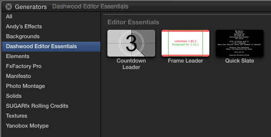 Useful Tools for Editors: After NAB Edition 34