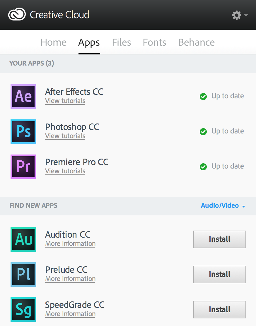 Hey Adobe, how about that video focused Production Premium CC bundle? 24