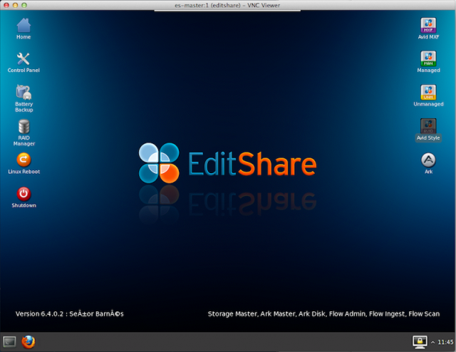 EditShare Field2 video editing shared storage