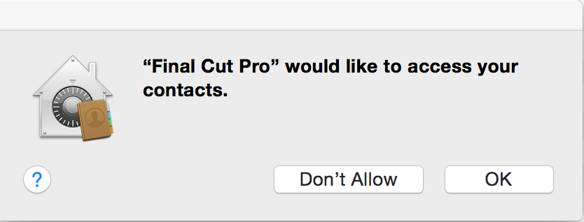 Installing and editing with Final Cut Pro 7 on a new Macbook Pro with Yosemite 3