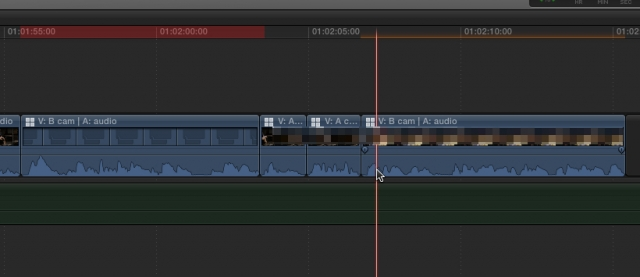 Final Cut Pro X 10.1 FCPX red render bar