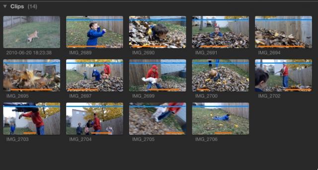 Final Cut Pro X 10.1 FCPX used media ranges