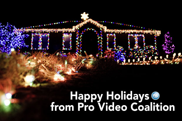 Happy Holidays from Pro Video Coalition 3