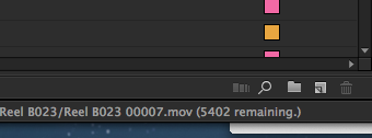 Adobe Premiere Pro CC loading remaining clips