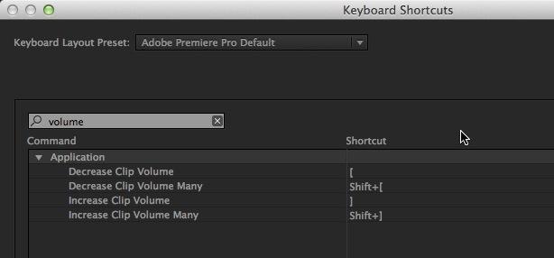 Adobe Premiere Pro CC audio