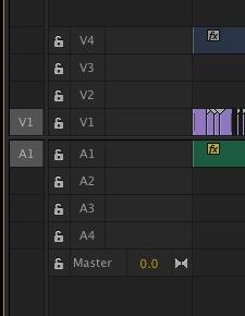 Adobe Premiere Pro CC timeline patch
