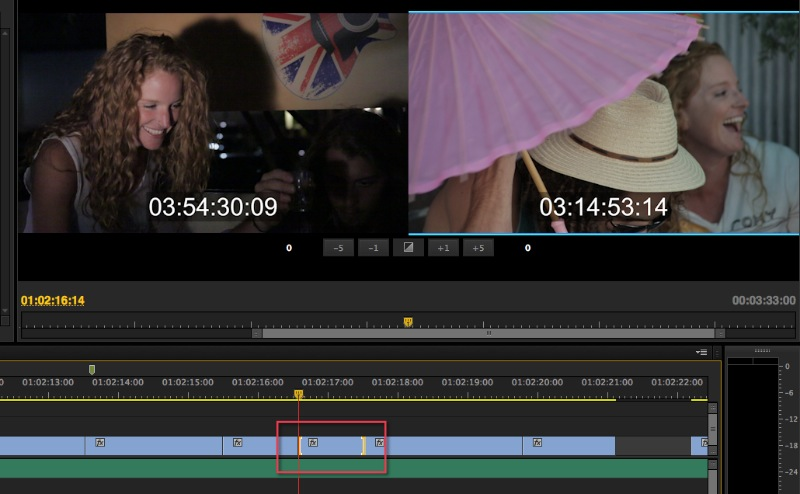 Adobe Premiere Pro CC Slip Tool Slip keyboard