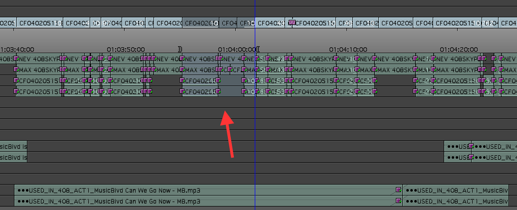 Day 27 #28daysofquicktips - Use Un-sync Locked Tracks for Easier Music Revisions 12