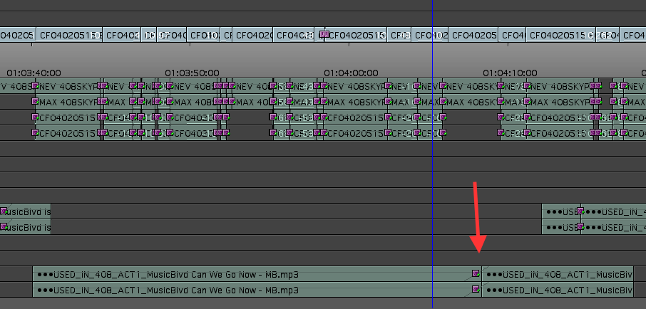 Day 27 #28daysofquicktips - Use Un-sync Locked Tracks for Easier Music Revisions 13