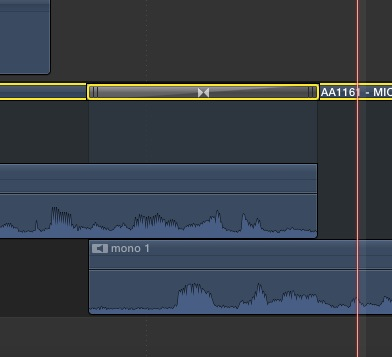 Day 26 #28daysofquicktips - Make an Audio-only Dissolve in Final Cut Pro X 9