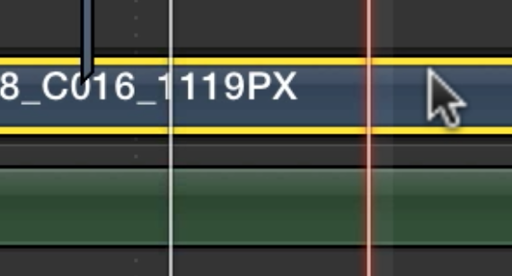 Day 6 #28daysofquicktips - Option click to move the Final Cut Pro X playhead 4