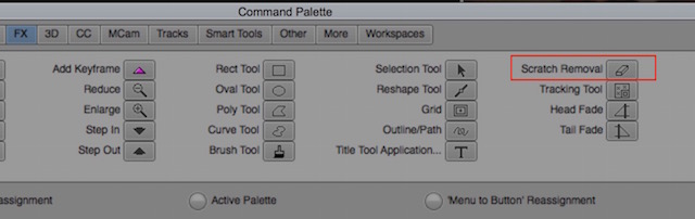 Day 19 #28daysofquicktips - Using the Scratch Removal Tool as a shortcut in Avid 6