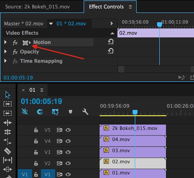 Day 11 #28daysofquicktips - Select a Specific Layer in the Premiere Pro Source Monitor 9