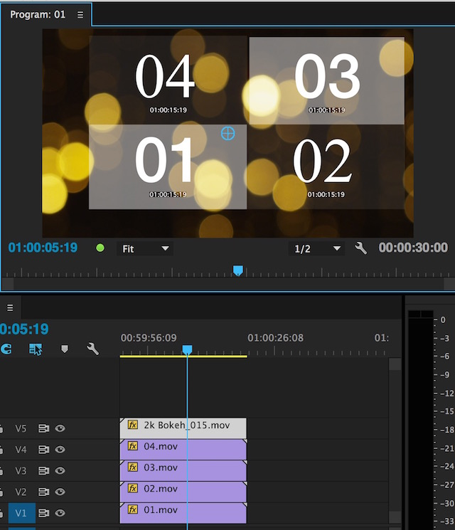 Day 11 #28daysofquicktips - Select a Specific Layer in the Premiere Pro Source Monitor 8