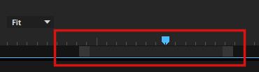Adobe Premiere Pro CC zoom slider