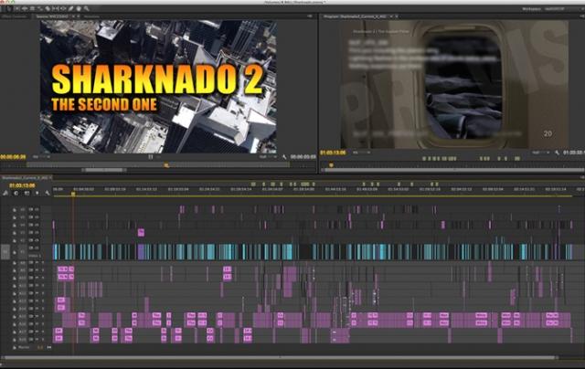 sharknado 2 timeline adobe premiere pro